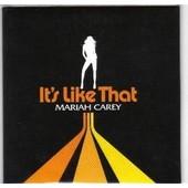 Mariah Carey : It S Like That - Cd Promo 3 Titres