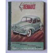 Votre 4 Cv Renault de Ouf Et Brioult F P