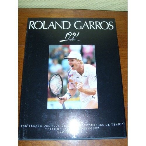 roland garros de 1991 achat vente neuf occasion. Black Bedroom Furniture Sets. Home Design Ideas