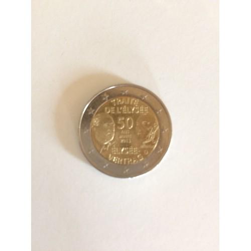 2 Euros 50 Ans Traite De L Elysee Pas Cher Ou D Occasion Sur Rakuten