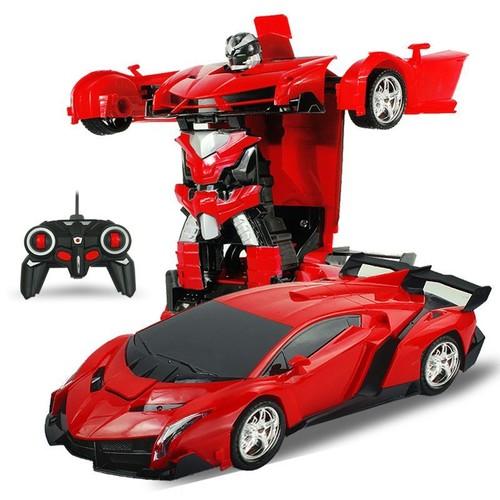 2 en1 rc sport transformation voiture robot t l command d formation auto jouet. Black Bedroom Furniture Sets. Home Design Ideas