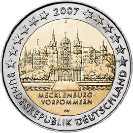 2 Euros Comm�rative Allemagne 2007
