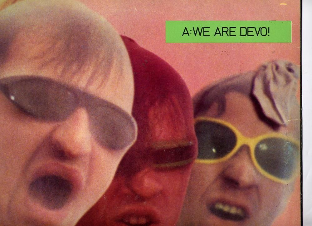 Q Are We Not Men A We Are Devo Promo