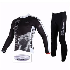 6168978ece1a8 2019 Nouveau Discoverer Personnalisé Fashion Hiver Jersey Ensemble De Cyclisme  Vêtement Thermique Fleece Maillot Manche Longue Homme, Pantalon Vélo ...