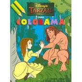 Tarzan Coloriage Prima Colorama de Disney