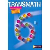 Nouveau Transmath 6eme Edition Speciale Professeur de jo�l malaval
