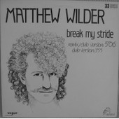 Break My Stride (1983) - Matthew Wilder