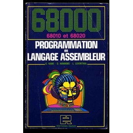 68000, Programmation En Langage Assembleur - Lance Leventhal