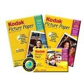 Kodak Picture Paper - Papier Glac� - 101.6 X 152.4 Mm - 190 G/M2 - 20 Feuille(S)