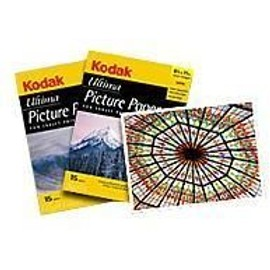 Kodak Ultima Picture Paper - Papier Photo Glac� - Blanc - A4 (210 X 297 Mm) - 270 G/M2 - 15 Feuille(S)