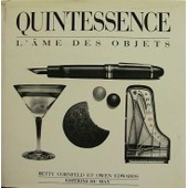 Quintessence. L'�me Des Objets de Cornfeld, Betty