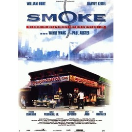 "Affiche originale 120x160 film ""Smoke"" de Paul AUSTER et Wayne WANG"
