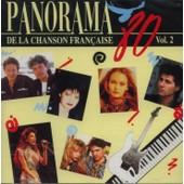 Panorama De La Chanson Fran�aise - 80 - Vol. 2 - Vanessa Paradis - Jean-Luc Lahaye - Maurane - Niagara - Elli Medeiros - Raft