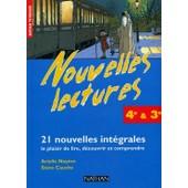 Nouvelles Lectures , 4 Eme Et 3 Eme Technologiques , 21 Nouvelles Integrales de Noyere