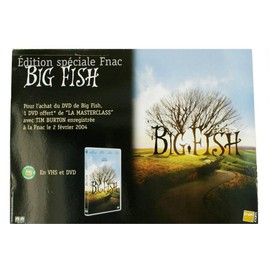 PLV du film BIG FISH de Tim Burton