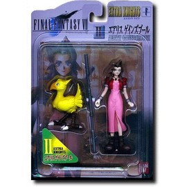 Final Fantasy Vii 7 - Aerith / Aeris - Figurine Extra Knights - Bandai Jap