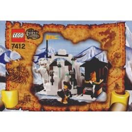 Lego Adventurers 7412 : L'antre Du Yeti