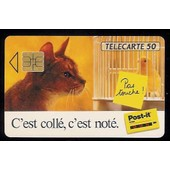 T�l�carte 50 - Post-It - Chat/Oiseau So3