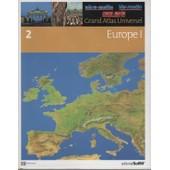 Grand Atlas Universel Tome 2 Europe 1 de collectif, editorial sol 90
