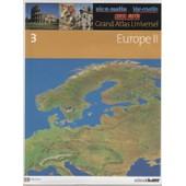 Grand Atlas Universel Tome 2 : Europe 2 de collectif, editorial sol 90