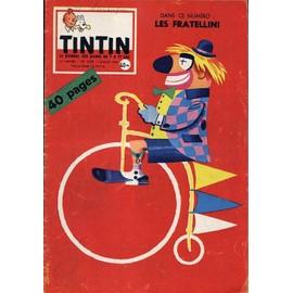 Tintin N� 558 : Les Fratellini