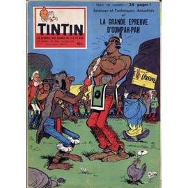 Tintin N� 505 : Du 26/06/1958 - La Grande �preuve D'oumpah-Pah