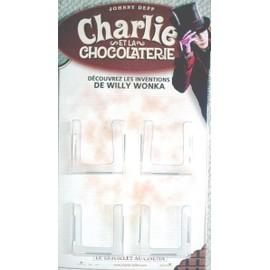 Charlie et la chocolaterie - Petit présentoir à carte - Johnny Deep
