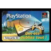 T�l�carte 50 - Sony Playstation - �t�