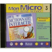 Mon Micro Me Rend Service N�3 - Dictionnaire Interactif