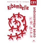 Ma�trise De La Langue Ce1, S�rie Rouge - Guide P�dagogique de Jean-Pierre Demeulemeester