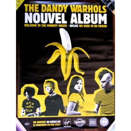 Poster promo - the DANDY WARHOLS