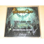 Freedom Call - Metal Invasion - Cd Card Sleeve 1 Titre Dedicac� Par Tous Les Membres !!!