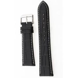 Petite annonce 24mm Bracelet De Montre En Pu Cuir Noir Boucle Alliage Watch Strap - 67000 STRASBOURG