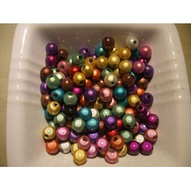 25 Perles Miracles Multicolores