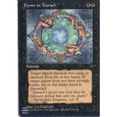 Hymn To Tourach �dition Fallen Empires (Magic The Gathering) (Cartes De Jeux)
