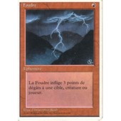 Foudre 4eme Edition (Magic The Gathering) (Cartes De Jeux)