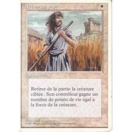 Retour Au Pays 4�me �dition (Magic The Gathering) (Cartes De Jeux)