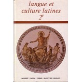 Langue Et Culture Latines 2e Ne Livre N 3 de Baudiffier