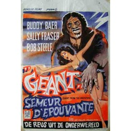 Géant, semeur d'épouvante (The Giant From the Unknown) - Affiche Belge du film - 35x52