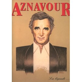 Charles Aznavour - Programme - La légende - 64 Pages - Inclus Une Carte Postale Dédicacée