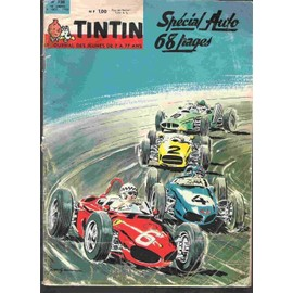 Le Journal De Tintin Special Auto 1962 Hors-S�rie N� 728 : Special Auto