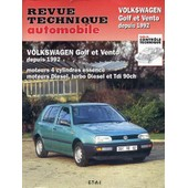Volkswagen Golf Et Vento, Depuis 1992 - Moteurs 4 Cylindres Essence, Moteurs Diesel, Turbo Diesel Et Tdi 90 Ch