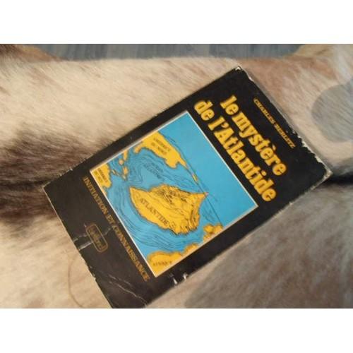 2573 Livre Le Mystere De L Atlantide Par Charles Berlitz