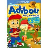 Adibou, Je Lis, Je Calcule - Maternelle Ms - 4/5 Ans