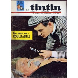 Tintin N� 912 : Une Heure Avec : Rouletabille