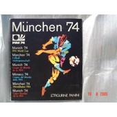 Album Panini Munchen 74 World Cup Coupe Du Monde de munchen 74, album panini
