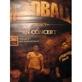 MADBALL - AFFICHE CONCERT LEGACY TOUR 2005 - 78x117