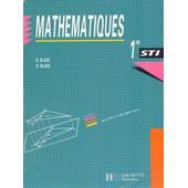 Math�matiques 1re Sti de B Blanc