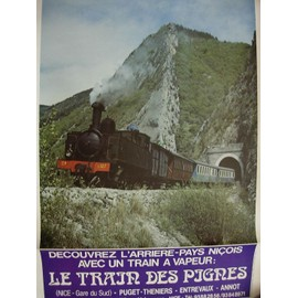 Affiche Train des Pignes