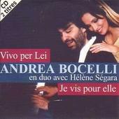 Vivo Per Lei 2 Tracks Card Sleeve - Andrea Bocelli